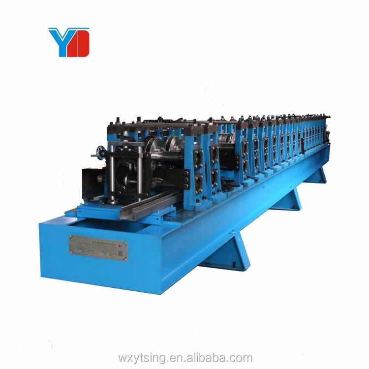 Customized Storage Rack Upright Beam Column Bracing Galvanized <strong>Steel</strong> Punching on Line Keep Forming Speed Roll Forming Machine