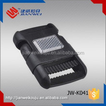 Plastic luggage strap insert buckle / bags buckle JW-K041