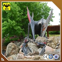 attractive fiberglass Pterosaur model
