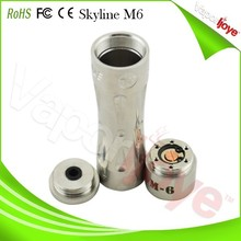 Full mech mod 18650 Skyline M6 clone with nice package in stock