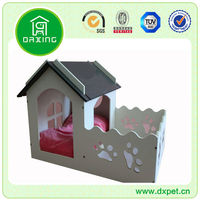 Original Design Hot Selling Pet Courtyard House Dog Wooden Prefab Homes DXMP031