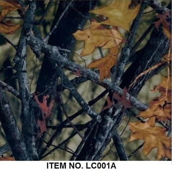 LC001A Camo motor cycle Liquid Image Aqua print film from China