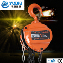 Hot sale single chain lever hoist, blue hand operated chain blocks
