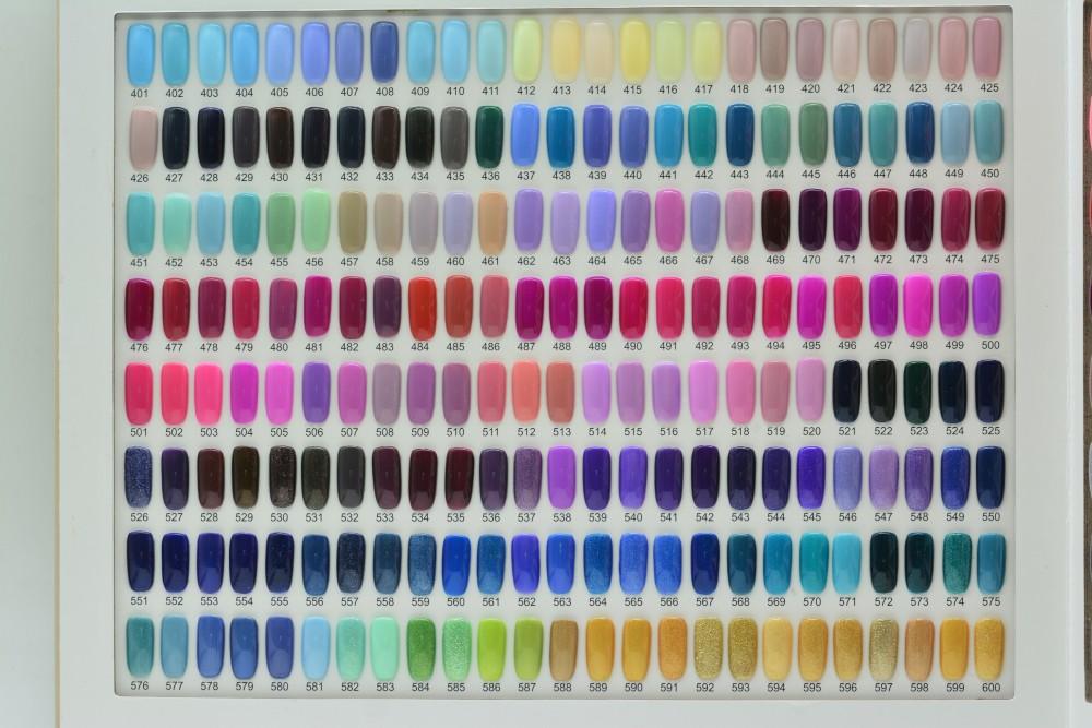 Ransehng três etapas gel unha polonês OEM cor 800 cores disponíveis