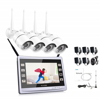 4ch 960P wifi kit with 22 inch led display screen