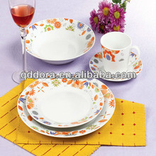 porcelain dinnerware set,made in poland china dinnerware,Set of dishes