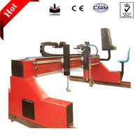 Small CNC Gantry plasma steel plate cutter metal plates machines