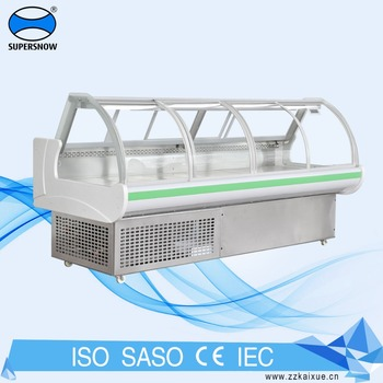 Shop And Supermarket Commercial Equipment Meat Display Chiller