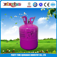 Portable 13.4L Disposable helium gas bottle for party used