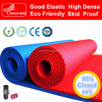 8mm nbr rubber sports gym yoga mats Waterproof latex free in China