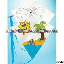 teaching DIY kite for children