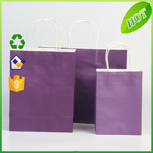 2016 Promotional different color paper bag shopping use