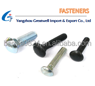 China imported wholesale carriage bolts