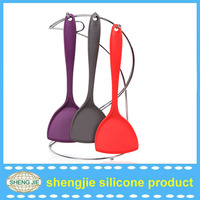 High quality recycle used silicone turner kitchen utensils