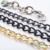 Manufacture hot sale new design metal bag chain accessories