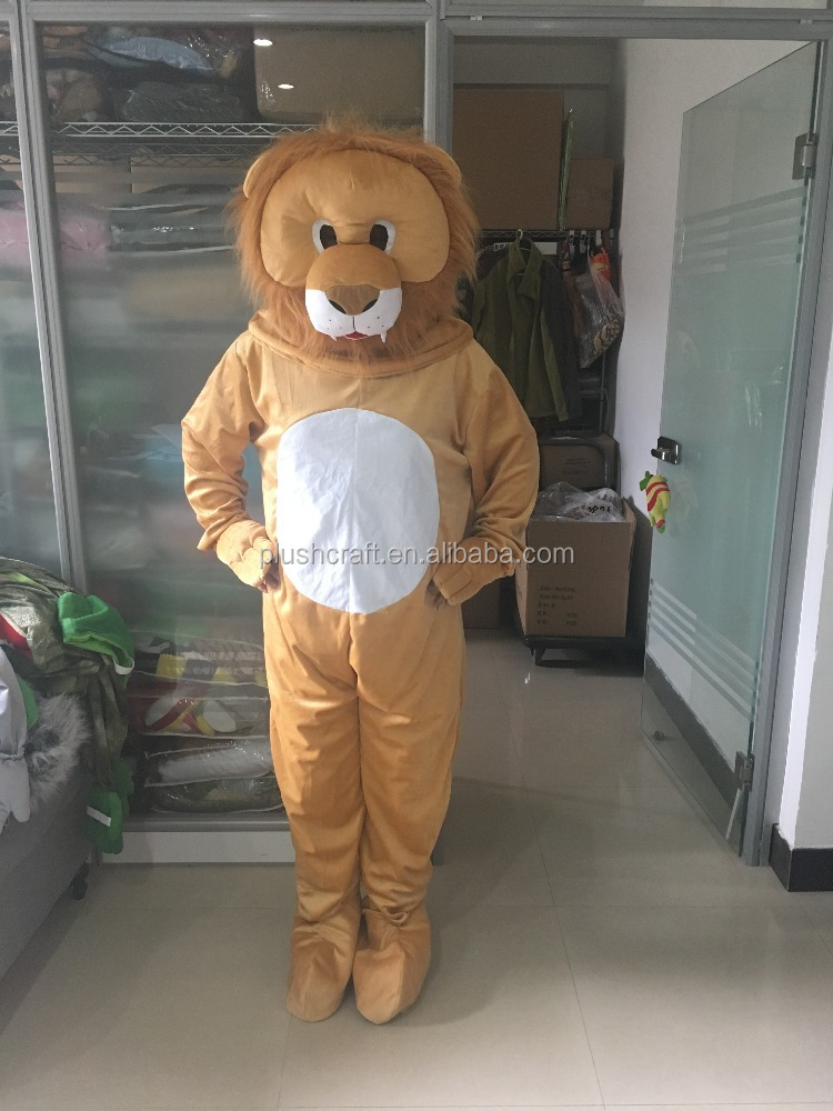 kid & adult plush lion fancy dress costume