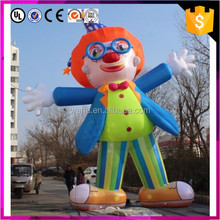 8m Giant Inflatable Clown Model For Adertisement
