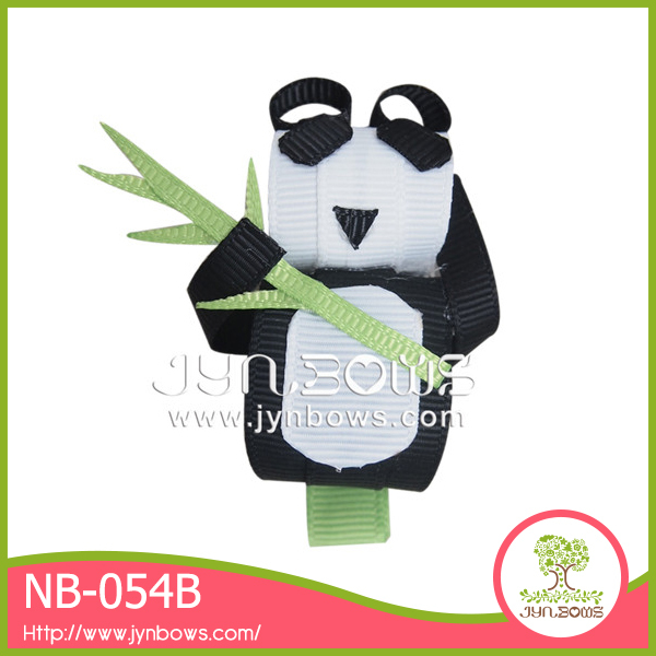 Newest beautiful panda hair clip animal barrettes