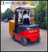 steeringwheel CE &ISO 2t 2.5t 3t 3.5t electric forklift Japan tech America Curtis controller AC motor and side shift*cabin*solid