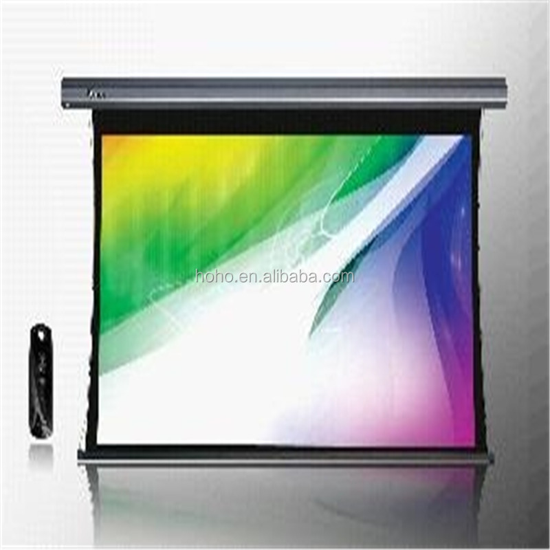 400'' 16:9 Giant Electric Tab Tension Projection Screen