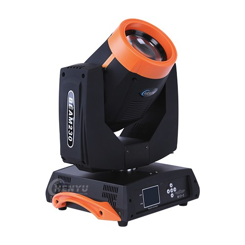 Clone copy 230w sharpy 7r beam moving head light with flight case