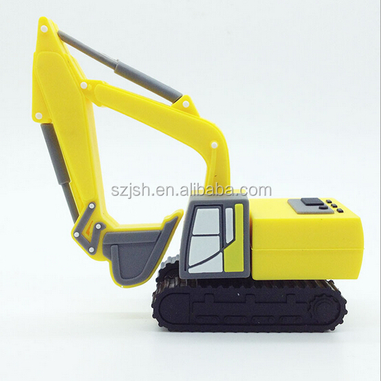 Cartoon Excavator Shape 2.0 Drive USB For Promotion Giveway