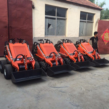 Mini skid steer loader BSL400 with different attachments for farm garden and construction