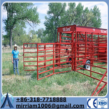 2015 High quality hot sale heavy duty hot dipped galvanized corral panels /metal livestock farm fence