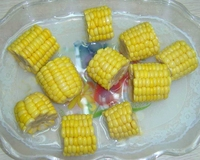 chinese canned fresh corn in cut with 800g