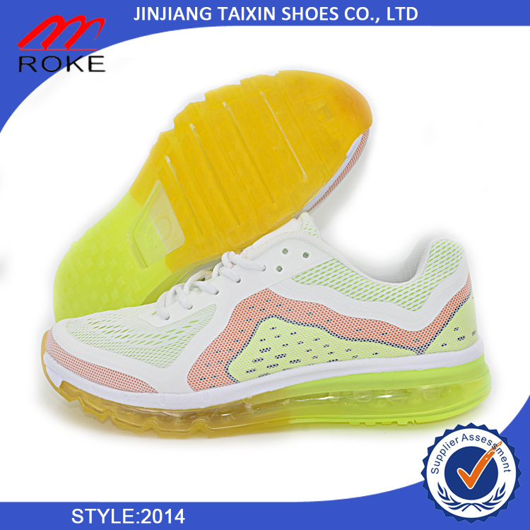 Hot sale running shoes 2014 for man air lowest price max jogging shoes italian running shoes