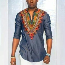 L2058A Fashion African Traditional Clothing Dashiki African Printed Shirt for men