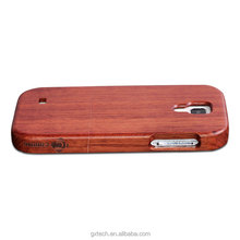 High Quality Natural Real Wood Cell Phone Case for Samsung S4