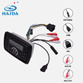 waterproof Square media center car radio mp3 play with bluetooth for boat yacht golf cart