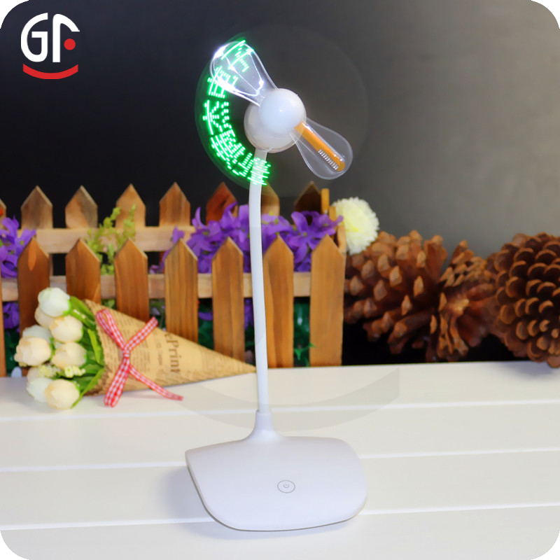 Glow Stick Party Supplies CE RoHS Approved Led Digital Message Fan