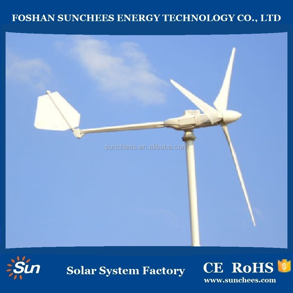 Residential wind turbine, low speed wind turbine generators,5000W vertical axis wind turbines