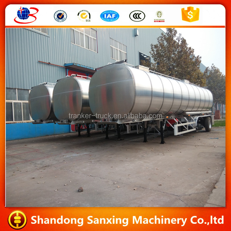2015 New designed small fuel tanker trailer for sale