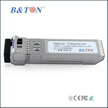 Single core 10Gbps TX-1270nm RX-1330nm Bi-Directional 40km Single mode Single LC SFP+ Transceiver Module with DDM