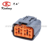 KINKONG product 8 way electrical female auto connector for sumitomo 6195-0051