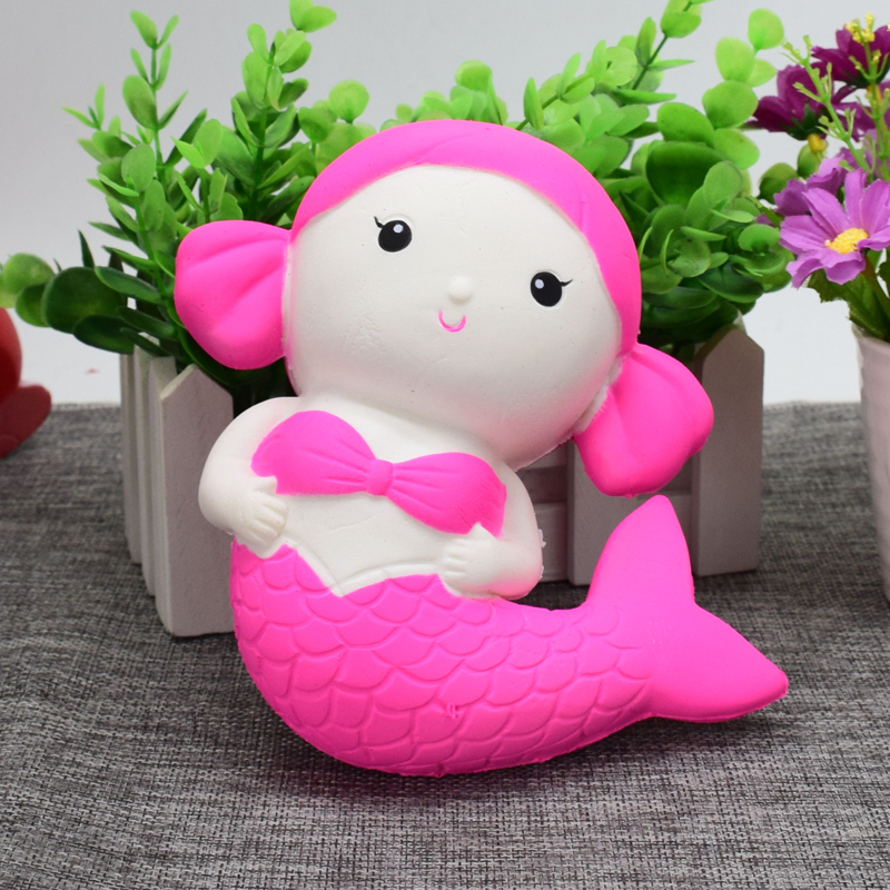 wholesale squishy mermaids sea-maid squishy slow rise