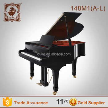 Black polished high quality piano for sale black kids Duke brand
