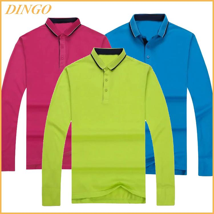 custom dry fit 100% polyester spandex mens polo golf t shirt