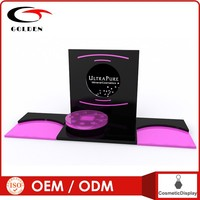 customized cosmetic eyeliner /eye lasher display stand