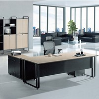 modern manager office desk ceo executive table