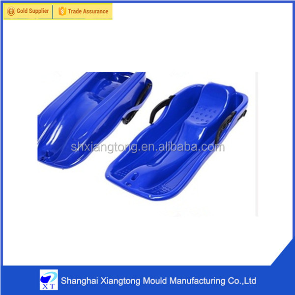 Popular OEM rotomolding Plastic snow luge mould