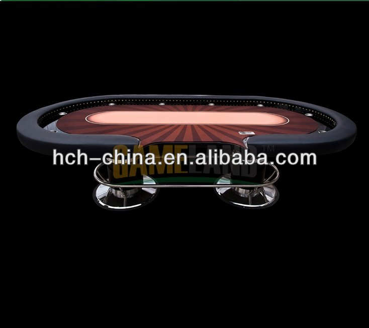 110 Inch Deluxe Casino Grade Professional Texas Holdem Poker Table