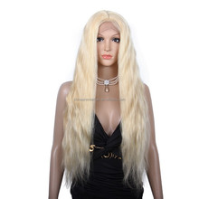 Top Quality wholesale price chinese virgin hair long blonde full lace wigs