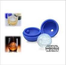 FDA and LFGB approved promotional custom colorful silicone sphere ice molds