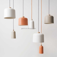 Modern Designer Wooden Aluminum Pendant Lights Indoor Decorative hanging Nordic Lamp
