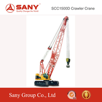 SANY SCC1500D 150 Ton Hoisting High Stability and Safety of Hoisting Machinery of Crane Truck For Sale