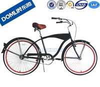 DOMLIN Customized 26 Inch Mans chopper bicycle Beach Cruiser Bike/ beach cruiser bicycle